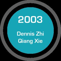 Testimonial: Dennis Zhi Qiang Xie (2003)