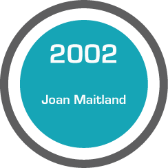 Testimonial: Joan Maitland (2002)